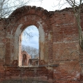 Руины манежа