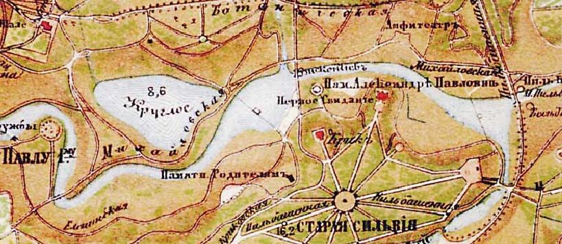 Крик. Павловск. Карта.