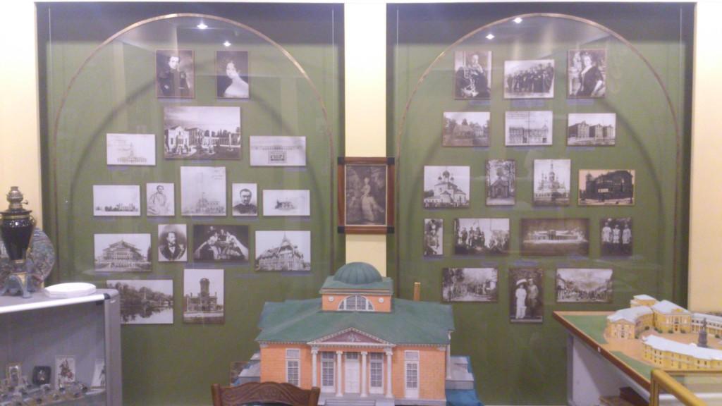 Музей города Павловска, фото, макеты