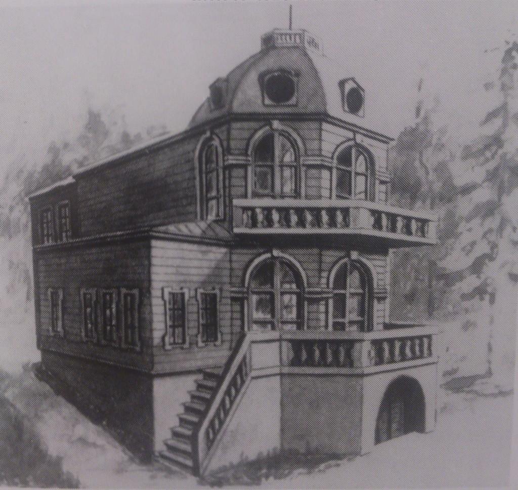 Домик Крак. Реконструкция Б.В.Януша 1994г.