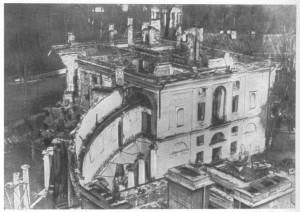 Павловск. Разрушенный дворец