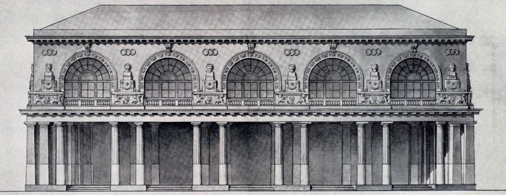 Фасад Павловского дворца