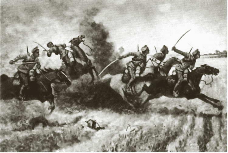 Кавалерия в атаке