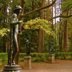 Статуя Старая Сильвия Павловск