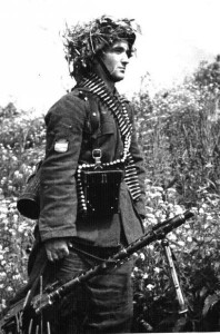Восточный фронт, солдат Голубой дивизии. 1942 - 43 гг.