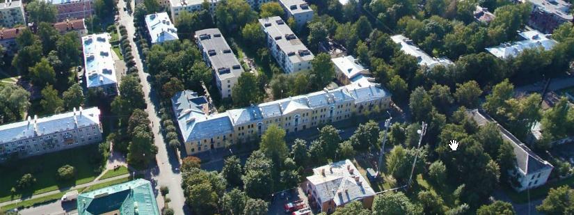 Гостиный двор - Павловс. Панорама.