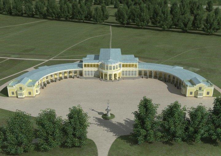 Воссоздание музыкального вокзала в Павловске